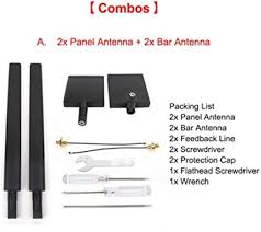2 Pieces of <b>2.4G</b> 7dB Flat Directive <b>Antenna</b> Range: Amazon.de ...