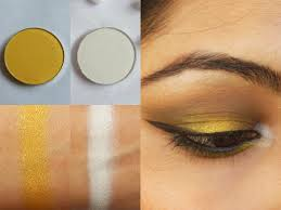 rise and shine with makeup geek eye shadows lemon drop and ice queen