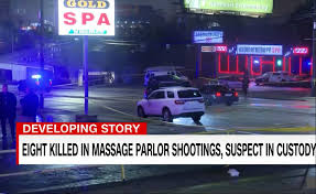 Eight Dead in Shootings at Massage Parlors in Metro Atlanta - Eagle Eye TV