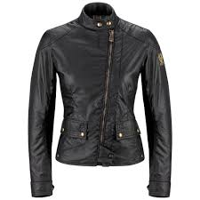 nr387 australia belstaff fashion sport bradshaw leather jackets black womens clothing most