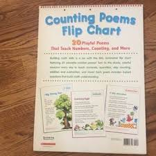 Counting Poems Flip Chart Scholastic Nursery Rhyme Counting Flip Chart