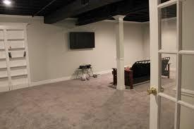dark basement hd. How To Make Painted Basement Ceiling H6SA5 Dark Hd