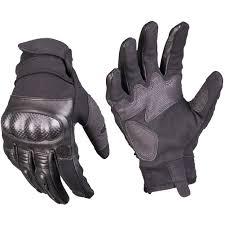 details about mil tec tactical leather gloves gen 2 combat patrol airsoft mens gauntlet black