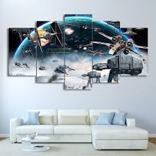 majestic looking movie wall art home decorating ideas star wars 5 panel piece canvas picture print ash decor uk on 5 panel wall art uk with majestic looking movie wall art home decorating ideas star wars 5