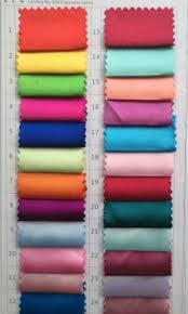 Satin Colour Chart Satin Ice Mixing Guide Warm Colours