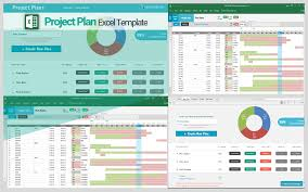 Sample Project Plan Excel Advanced Project Plan Template Excel Excel Project Schedule Template