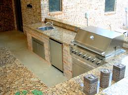 Outdoor Kitchen Countertop Feature Design Ideas Kitchen Countertop Materials Compared