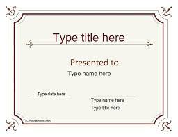 Paper Awards Templates Under Fontanacountryinn Com