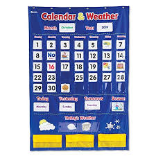 How To Make A Pvc Pocket Chart Stand Learning Resources Calendar Weather Pocket Chart Classroom Organization 136 Piece
