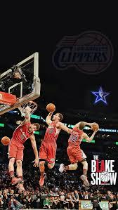 blake griffin la clippers dunk wallpaper