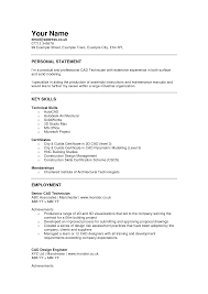 Cad Engineer Sample Resume 3 Templates Autocad Drafter