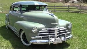 1947 Chevy Fleetline Torpedoback - YouTube