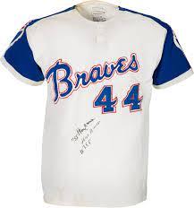 1972 Hank Aaron Game Worn & Signed ...