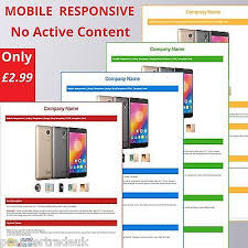 Listing Template Ebay Listing Template Html Professional Mobile Responsive Design