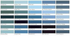 23 Veritable Martin Senour Color Chart