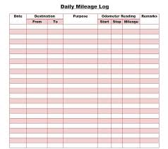 driving log template mileage log sample oyle kalakaari co
