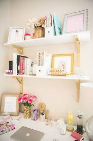 pink home office design idea.  Office Inspiring Feminine Home Office Decor Ideas For Your Dream Job Inside Pink Home Office Design Idea