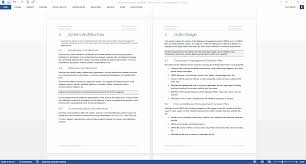 What Is Project Design Document Design Document Template Ms Office