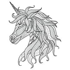 Unicorn Coloring Page Unicorn Head Coloring Pages Coloring Pages