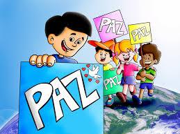 Resultado de imagen para imagenes de niños dia de la paz animada