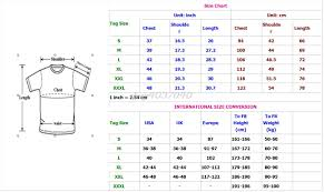 Shirt Neck Size Conversion Chart Fashion Short Sleeve Black T Shirt New Turkey Polis Ozel