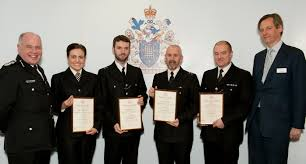 southwark 04 apr police officers honoured for going above and beyond their call of duty to save lives a five year old girl who stopped breathing a suicidal man