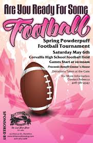 powder puff football flyers annual bitterroot powder puff spring tournement 05 06 2017 corvallis