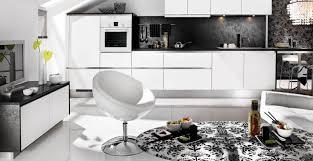 Modern Kitchen Wallpaper Kitchen Kitchen Modern With Minimalist Style And White Black
