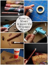 light up harry potter wand tutorial