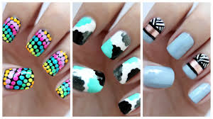 Easy Nail Art For Beginners!!! #23 | JennyClaireFox - YouTube