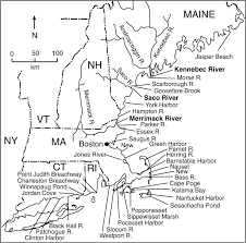 Location Of The Inlets Discussed In The Paper And Listed In