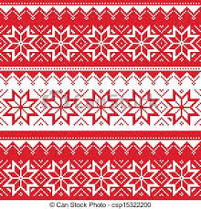 christmas sweater print background. Nordic Seamless Christmas Pattern For Sweater Print Background