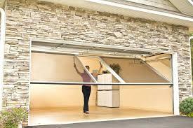 build garage door overhead garage door screens garage screen doors a fresh take on outdoor living build garage door