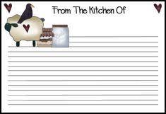 Recipe Template For Word 75 Best Recipe Template Images Cookbook Ideas Cookbook Template