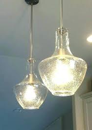 seeded glass pendant lights lamp light home depot