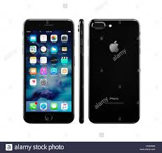 iphone 7 black front. apple iphone 7 plus, black, front, side and rear views iphone black front \