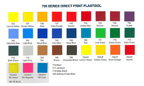 International Coatings Ink Color Chart 700 Series Color Chart