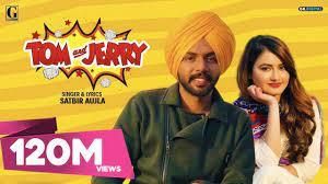 TOM And JERRY (Official Video) Satbir Aujla | Satti Dhillon | Divya Puri |  Punjabi Songs