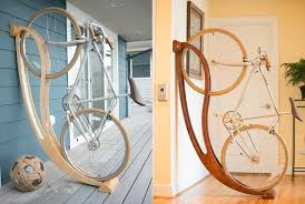 Bike hanger for apartment Stand 20 Minimalist Bike Storage Ideas For Tiny Apartments Homecrux 30 Minimalist Bike Storage Ideas For Tiny Apartments pictures