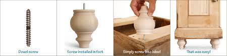 8 easy ways to attach furniture feet