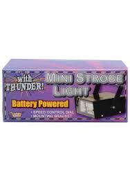 Small Led Strobe Lights Mini Led Strobe Light With Thunder