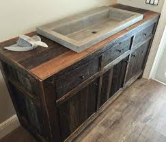 reclaimed bathroom furniture. Orlando Reclaimed Barn Wood Bathroom Cabinet Furniture