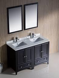 48 inch double sink vanity. the 48 oxford double sink vanity espresso bathgems in plan inch c