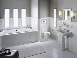 bathroom white tiles:  white tile bathroom terrific white subway tile bathroom ideas and pictures