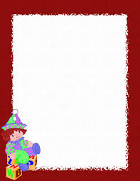 Holiday Stationery For Word Free Christmas Stationery