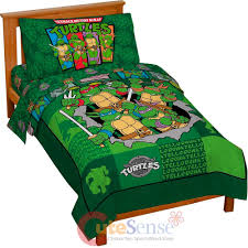 teenage mutant ninja turtles green toddler bedding set tmnt sets item turtle microfiber comforter pink and