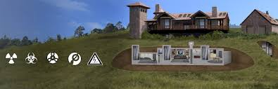 Bomb Shelter  Underground and Survival Shelters   Hardened StructuresFortfied Homes
