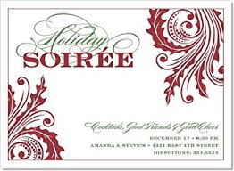 Formal Christmas Party Invitations Amazon Com Noteworthy Collections Formal Holiday Party