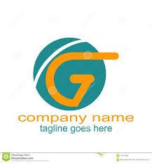 Logo Design Samples For Alphabets Creative Design Letter G Logo Graphic Resourced Stock Vector