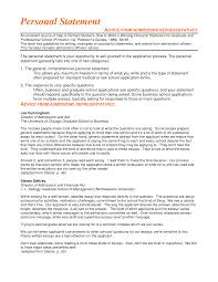 Examples Of Personal Statements For Cv Personal Statement For Human Resource Management Sample And